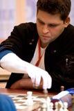 棋法国高段棋手tkachiev vladislav 免版税库存图片