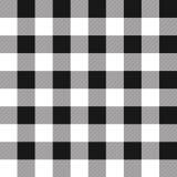 棋盘黑色白色背景 库存例证