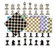 棋背景 库存图片