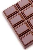 棒巧克力查出的白色 库存图片