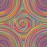 棒棒糖五颜六色的无缝的样式 免版税库存图片