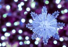 棒棒糖圣诞节装饰品雪结构树 库存图片