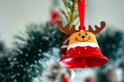 棒棒糖圣诞节装饰品雪结构树 库存照片