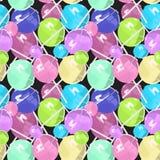 棒棒糖大样式的颜色 图库摄影