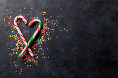 棒棒糖心脏 免版税库存照片