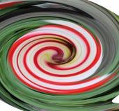 棒棒糖漩涡 向量例证