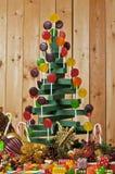 棒棒糖结构树 免版税图库摄影