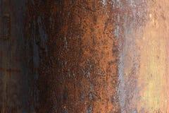 棒深源左其它铁锈纹理 免版税库存图片