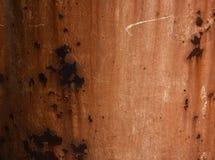 棒深源左其它铁锈纹理 免版税库存照片