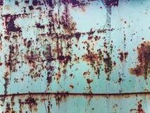 棒深源左其它铁锈纹理 图库摄影
