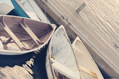 棒港口缅因,海岸区。 免版税库存图片
