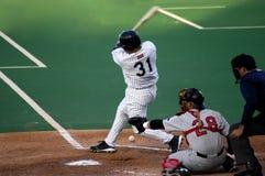 棒球体育运动罢工 免版税库存照片