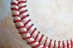 棒球使用了 免版税库存图片