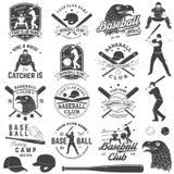 棒球俱乐部徽章 也corel凹道例证向量 衬衣的概念或商标、印刷品、邮票或者发球区域 免版税库存照片