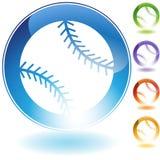 棒球图标 库存例证