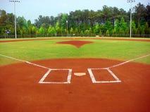 棒球场 库存照片