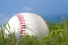 棒球夏天 库存照片