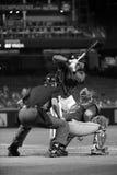 棒球大联盟审判员 免版税库存图片