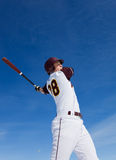 棒球实践 免版税图库摄影
