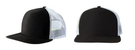 棒球帽或卡车司机帽子 图库摄影