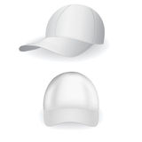 棒球帽 库存例证