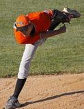 棒球意大利同盟投手高级系列世界 免版税库存照片