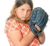 棒球抓住 免版税库存图片