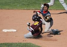 棒球接近的同盟作用高级系列世界 库存照片