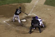 棒球旋转 库存照片
