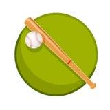 棒球材料 库存图片