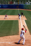 棒球比赛 库存图片