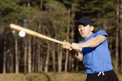 棒球演奏体育运动向量的图标人 库存图片