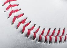 棒球球细节 库存照片