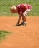 棒球男孩 库存照片