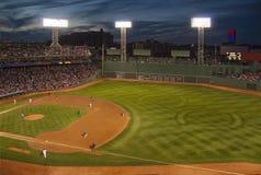 棒球的芬威球场,波士顿,麻省 美国 免版税库存照片