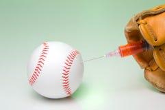 棒球类固醇 库存图片