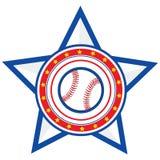 棒球美国 库存图片