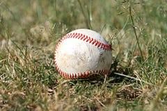 棒球老外野 免版税图库摄影