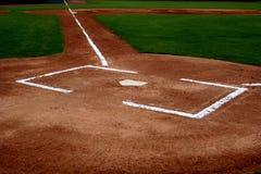 棒球耕地 免版税图库摄影