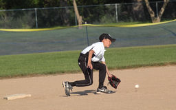 棒球联盟一点 图库摄影