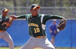 棒球联盟投手高级系列世界 图库摄影