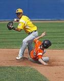 棒球联盟球员高级系列世界 免版税图库摄影