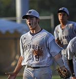 棒球联盟高级系列得克萨斯世界 图库摄影