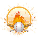 棒球背景 图库摄影