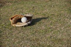 棒球设备 库存图片