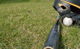 棒球设备 免版税库存图片