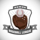 棒球设计 免版税库存照片