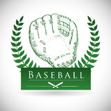 棒球设计 库存照片