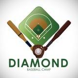 棒球设计 免版税库存图片