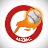 棒球设计 免版税图库摄影